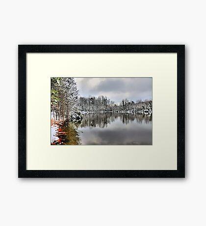 Steve's Pond  (HDR) Framed Print