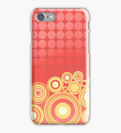 Concentrics - Red|Orange [iPhone/iPod case] iPhone Case/Skin
