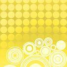 Concentrics - Lemon [iPhone / iPod case] by Didi Bingham