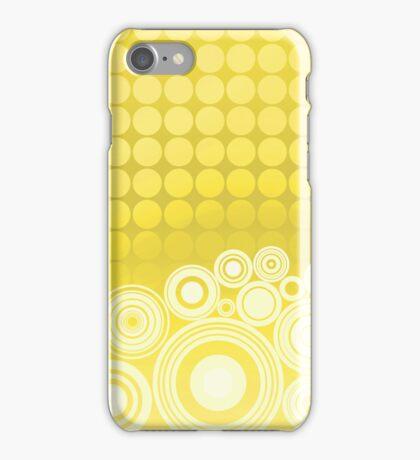 Concentrics - Lemon [iPhone / iPod case] iPhone Case/Skin