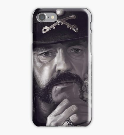 Lemmy Kilmister iPhone Case/Skin