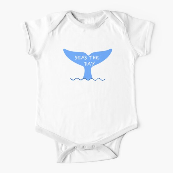 Seas the day Short Sleeve Baby One-Piece