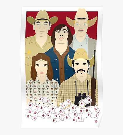 The Country Of Living Dangerously (Face & Movies) Poster