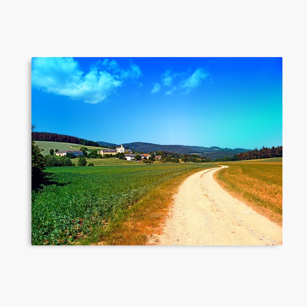 Another lonely hiking trail Canvas Print