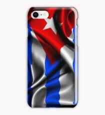 Cuba Flag Drop iPhone Case/Skin