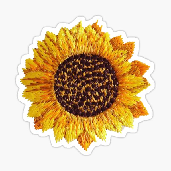 Sunflower patch Sticker