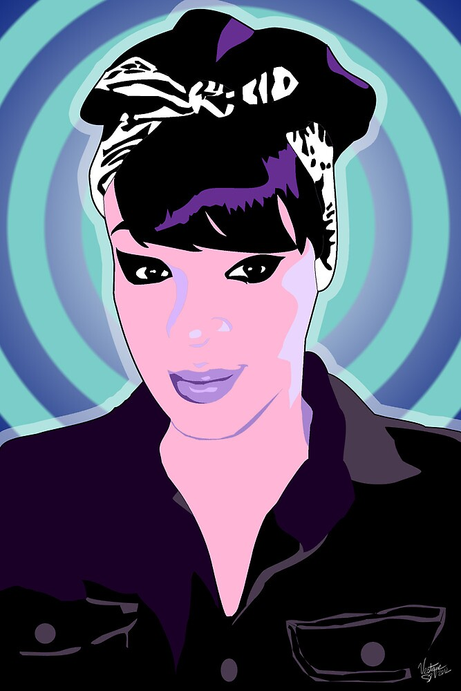 Vee's Pop Art: Amanda by Vestque