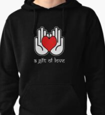 A Gift Of Love dot Info merch jan 2012 no text Pullover Hoodie