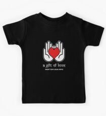A Gift Of Love dot Info merch jan 2012 text Kids Clothes