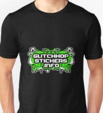 Glitch Hop Stickers Dot Info Official Merch Unisex T-Shirt