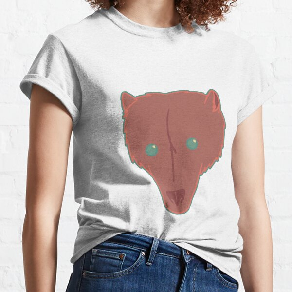 Bear head worked in limited colors Classic T-Shirt