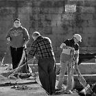 Family Net Mono ----- M'Xlokk Malta by Edwin  Catania