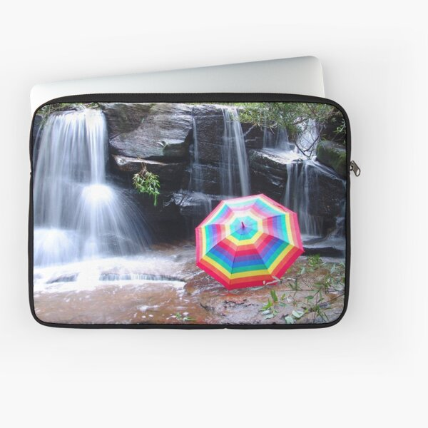 Kelly Falls with umbrella Laptop Sleeve