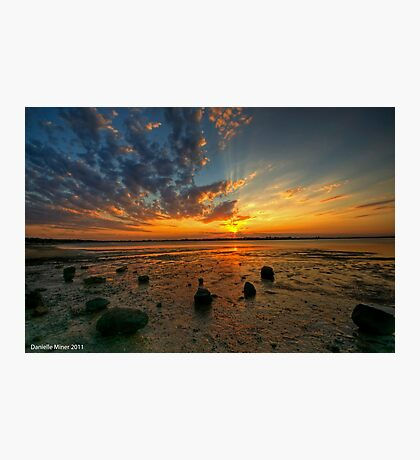 Barwon Heads Sunset HDR Photographic Print
