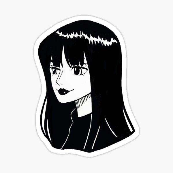 Fille gothique Robin Sticker