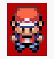 Red Overworld Sprite Photographic Print