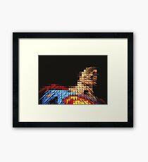 Superhero Five Framed Print