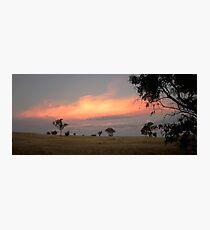 Military Road, Brukunga, South Australia Photographic Print