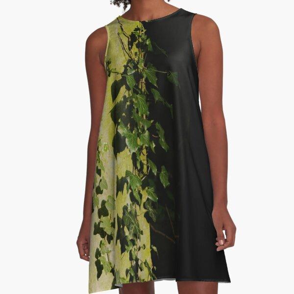 Trailing ivy on grave A-Line Dress