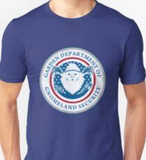 Gnomeland security. Unisex T-Shirt