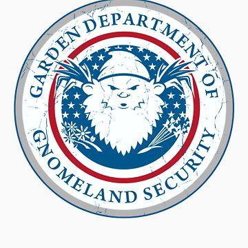 Gnomeland security. by designsbygaunty