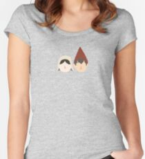 lorna and wirt womens fitted scoop t shirt - Over The Garden Wall Merchandise