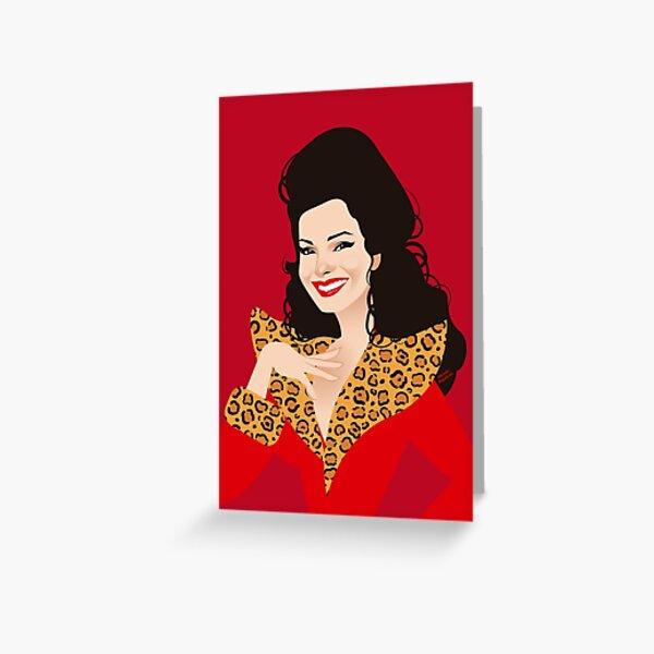 Fran Greeting Card