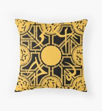 PUZZLE BOX - SIDE C Throw Pillow
