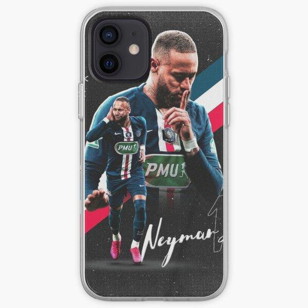 Fondo de pantalla de Neymar Ilustración Funda blanda para iPhone