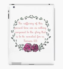 Romans 8:18 iPad Case/Skin