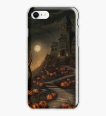 Halloween Haunted House phone case iPhone Case/Skin