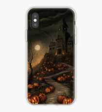 Halloween Haunted House phone case iPhone Case