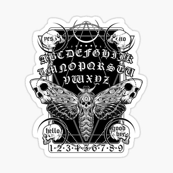 Death Moth Spirit Board Sticker