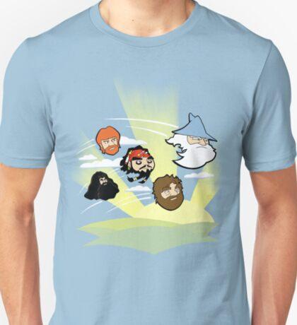 Celebrity Angered Beards T-Shirt