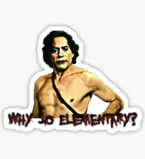 Why So Elementary? Sticker
