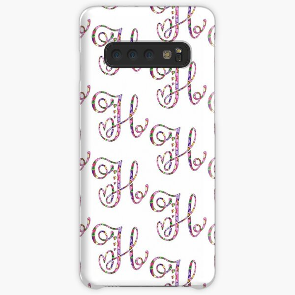 Springtime Alpha Designs - H Samsung Galaxy Snap Case