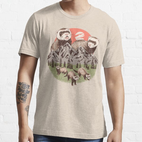 Hurones de montaña Camiseta esencial