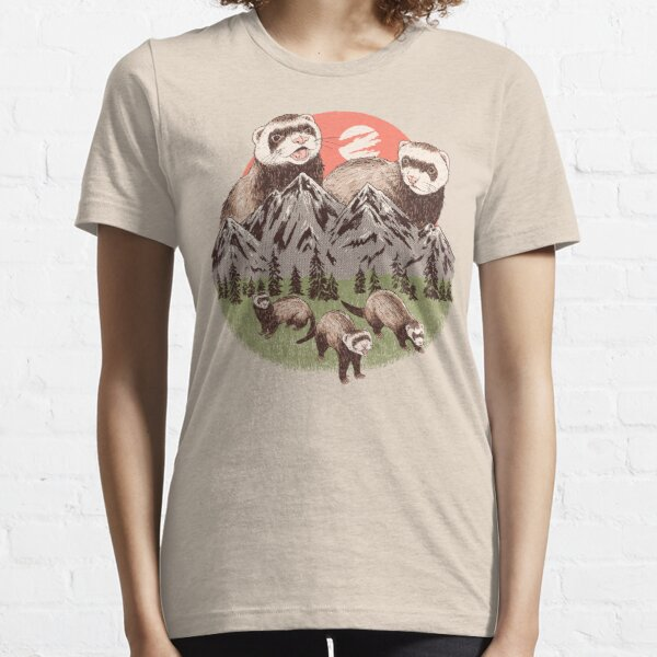 Mountain Ferrets Essential T-Shirt