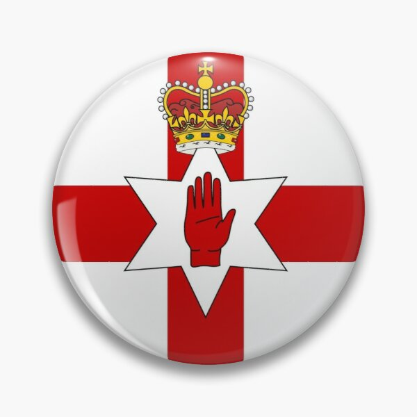 Ulster Banner (flag of Northern Ireland) Pin
