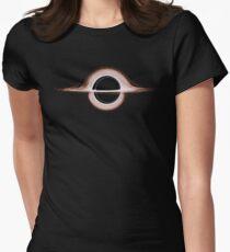 Schwarzes Loch Tailliertes T-Shirt