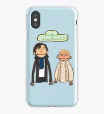Sherlockesame Street iPhone Case iPhone Case/Skin