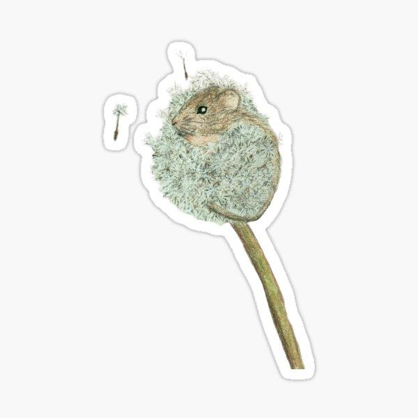 dandelion mouse Sticker