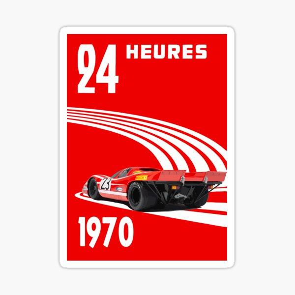 Nurburgring Nurburg-Ring Sticker Vintage Sports Car Racing Decal