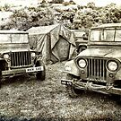 World War II Jeeps and Camp by Jay Lethbridge