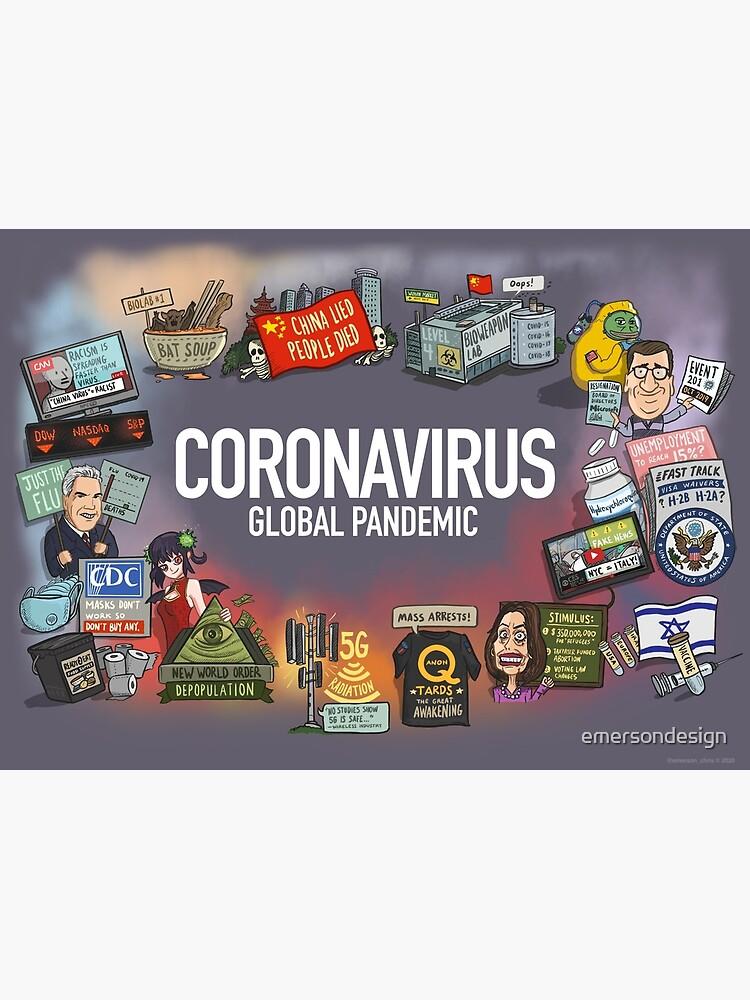 Coronavirus Global Pandemic by emersondesign