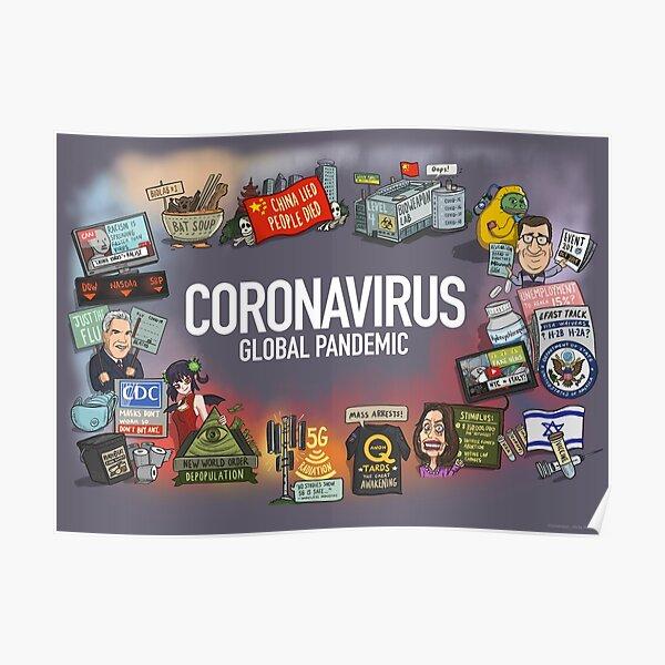 Coronavirus Global Pandemic Poster
