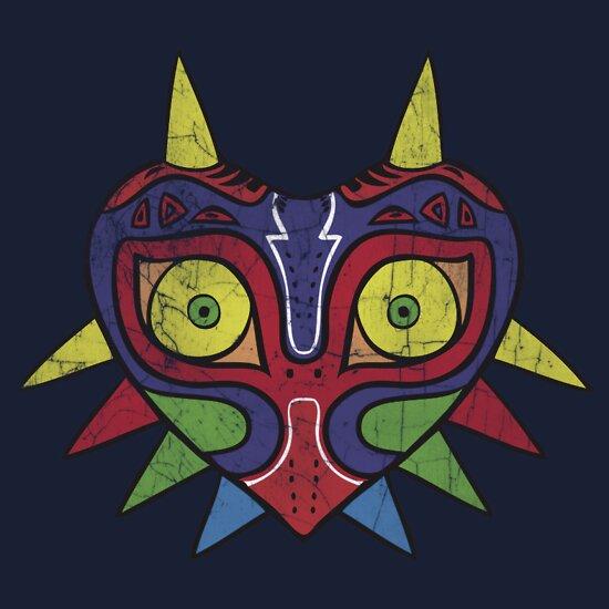 TShirtGifter presents: majora's mask