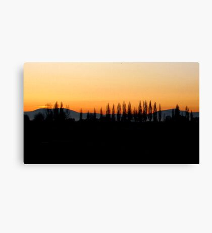 A wonderful early morning Rise~! Canvas Print