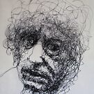Brett Whiteley contemplates old age by Harry Kent