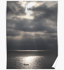 Pacific (Peaceful) Ocean - Oceano Pacifico  Poster